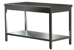 Table inox sans dosseret Clérinox 1800x700x850mm
