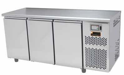 Tour de fermentation inox 400x600mm FREEZERLINE